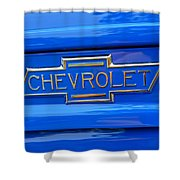 Chevrolet Emblem Shower Curtain