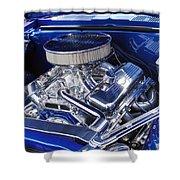 Chevrolet Hotrod Engine Shower Curtain