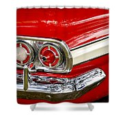 Chevrolet Impala Classic Rear View Shower Curtain