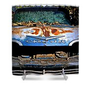 Chevrolet Picking Shower Curtain