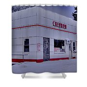 Chevron Lowville Ny Shower Curtain
