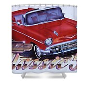 Chevy-088 Shower Curtain