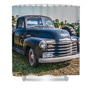Chevy 1100 Shower Curtain