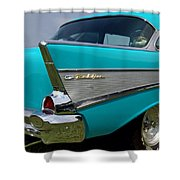 Chevy 1957 Bel Air Shower Curtain