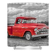 Chevy 3100   7d05235 Shower Curtain