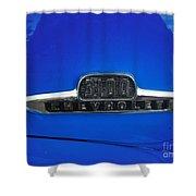 Chevy 3100 Emblem Shower Curtain