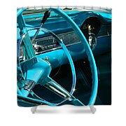 Chevy Bel Air Interior  II Shower Curtain
