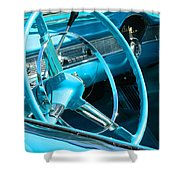Chevy Bel Air Interior  Shower Curtain
