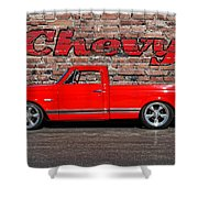 Chevy C10 Pickup Shower Curtain