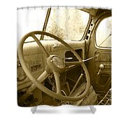 Chevy Cab  Shower Curtain