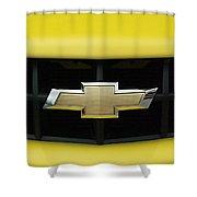 Chevy Camero Emblem 01 Shower Curtain