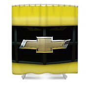 Chevy Camero Emblem 01 Shower Curtain