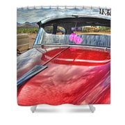 Chevy Classic Shower Curtain