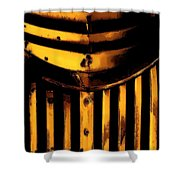 Chevy Grill Shower Curtain