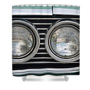 Chevy Lights Shower Curtain