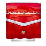 Chevy Logo 1957 Shower Curtain