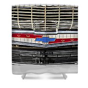 Chevy Nation 1957 Bel Air Shower Curtain