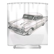 Chevy No Levy-076 Shower Curtain