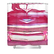 Chevy - Red Shower Curtain