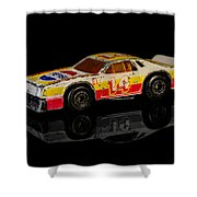 Chevy Stock Car Shower Curtain