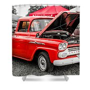 Chevy Stock Shower Curtain