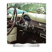 Chevy Style Shower Curtain