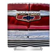 Chevy Truck Logo Vintage Shower Curtain