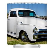 Chevy Truck Shower Curtain by Robert L Jackson