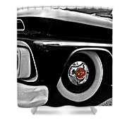 Chevy Truckin Shower Curtain