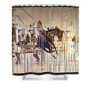Cheyenne Spurs Shower Curtain