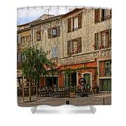 Chez Luigi St Remey France Dsc02408  Shower Curtain