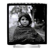 Chiapas Girl Shower Curtain