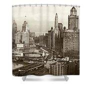 Chicago, 1931 Shower Curtain