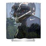Chicago Bears Bourbonnais Il Summer Home Shower Curtain