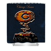 Chicago Bears Shower Curtain
