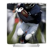 Chicago Bears Training Camp 2014 Moving The Ball 07 Shower Curtain
