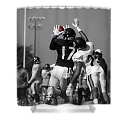 Chicago Bears Wr Alshon Jeffery Training Camp 2014 Sc Shower Curtain