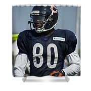 Chicago Bears Wr Armanti Edwards Training Camp 2014 01 Shower Curtain