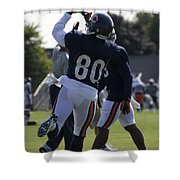 Chicago Bears Wr Armanti Edwards Training Camp 2014 04 Shower Curtain