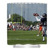 Chicago Bears Wr Armanti Edwards Training Camp 2014 08 Shower Curtain
