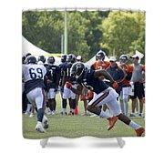 Chicago Bears Wr Brandon Marshall Training Camp 2014 05 Shower Curtain
