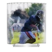 Chicago Bears Wr Micheal Spurlock Training Camp 2014 04 Pa 01 Shower Curtain