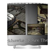 Chicago Blackhawks Before The Gates Open Interior 2 Panel Sb 01 Shower Curtain