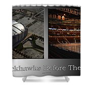 Chicago Blackhawks Before The Gates Open Interior 2 Panel Sb Shower Curtain