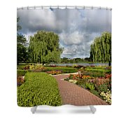 Chicago Botanical Gardens - 97 Shower Curtain by Ely Arsha