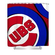 Chicago Cubs Football Shower Curtain