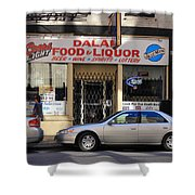 Chicago Storefront 3 Shower Curtain