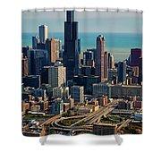 Chicago Highways 05 Shower Curtain