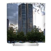 Chicago Lake Point Tower Shower Curtain