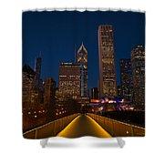 Chicago Lights Shower Curtain